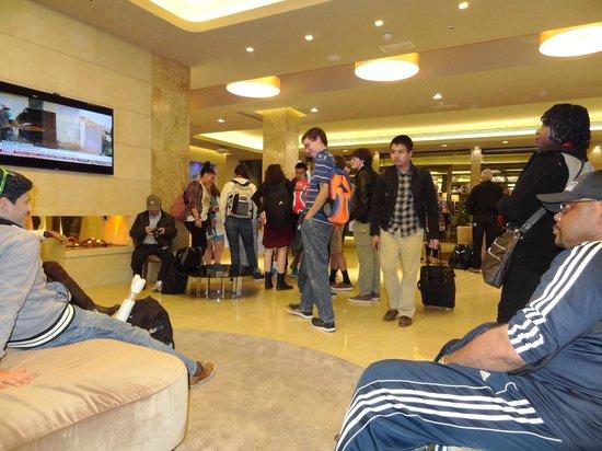 FH Grand Hotel Mediterraneo: Lobby view inside
