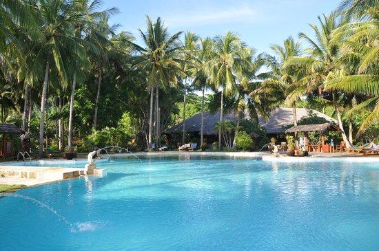 Gangga Island Resort & Spa : Poolbereich