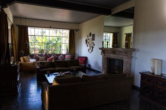 Casa de las Palmas: Inside of main house