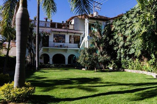 Casa de las Palmas: View of the artist studio