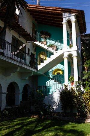 Casa de las Palmas: Stairs to artist studio