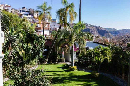 Casa de las Palmas: View from artist studio balcony