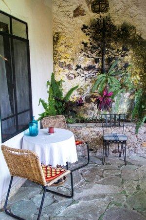 Casa de las Palmas: Sitting area