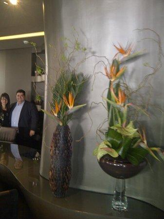 The Beautique Hotels Figueira : Paulo et Yolanda de la réception de l'Hôtel...