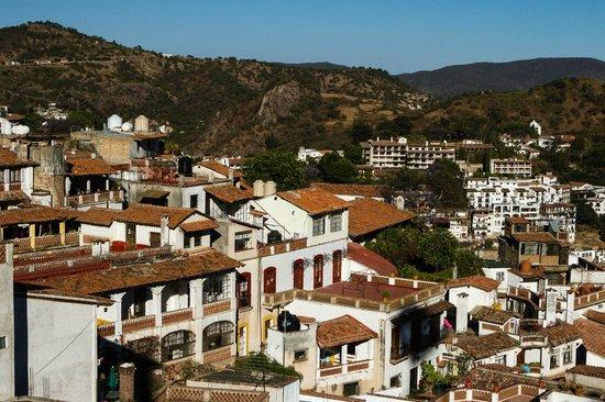 Casa de las Palmas: View of Taxco from terrace