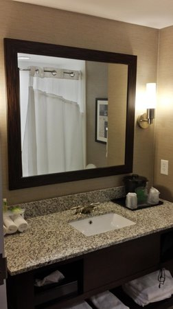 Holiday Inn Express Hotel & Suites Utica: Bathroom
