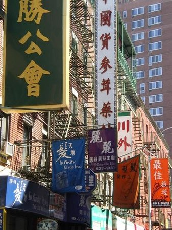 Ahoy New York Food Tours: china town