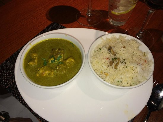 Masala Zone Covent Garden: Malabar green chicken curry