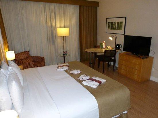 Mercure São Paulo Jardins Hotel : quarto