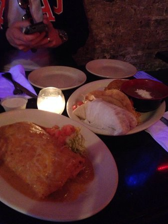 Florencia 13: Tacos and burrito