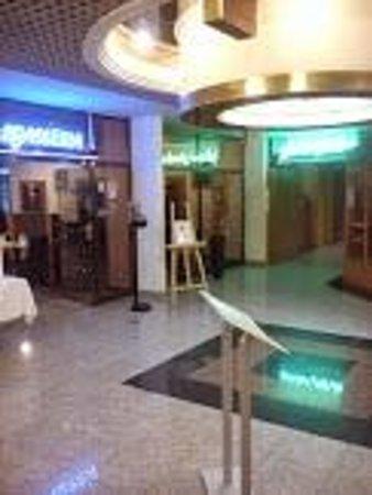 Holiday Inn Bratislava : Empfangsbereich.