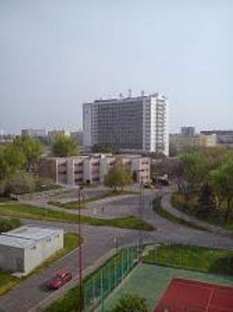 Holiday Inn Bratislava : Zimmersicht nach hinten.