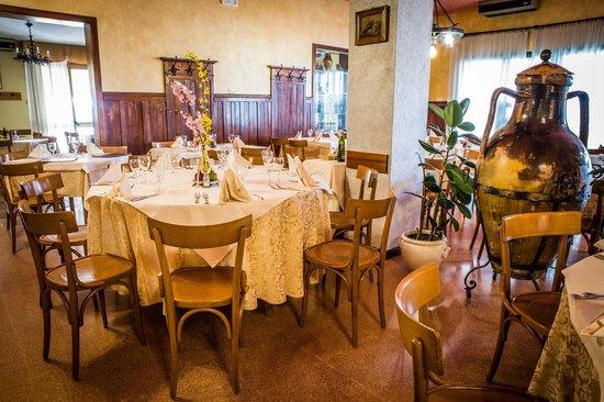 Ai Cjastinars Trattoria : sala ristorante