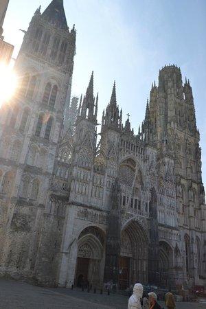 Cathedrale Notre-Dame de Rouen: Вид собора