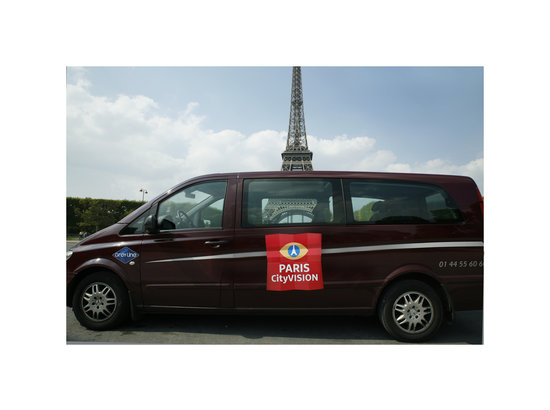 PARISCityVISION: Discover Versailles or Tour Eiffel with one of our VIP tours