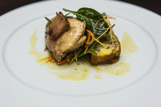 Coda Restaurant : Rabbit Leg prepared under pressure