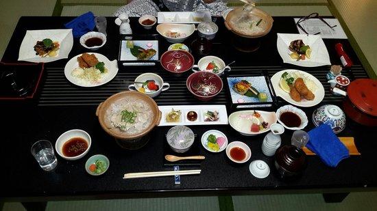 Aioi: 10 course dinner