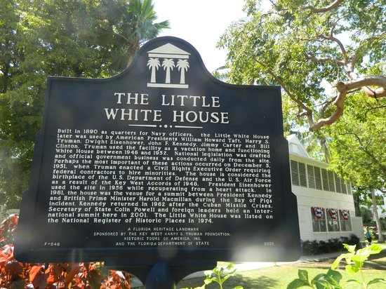 Harry S. Truman Little White House: Sign