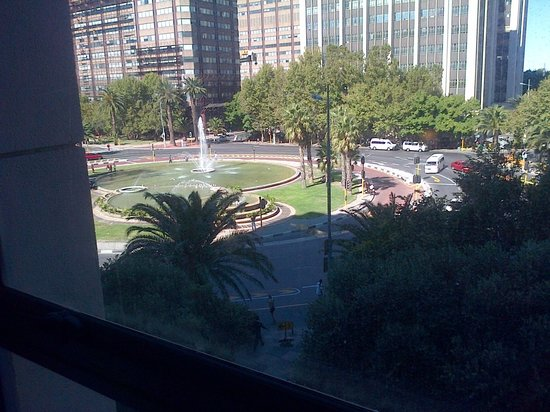 Fountains Hotel : View from the hotel