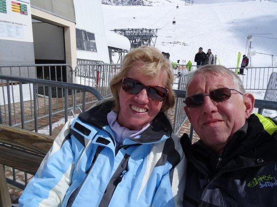"""Club Med Les-Deux Alpes: Ons eerste """"selfie"""""""