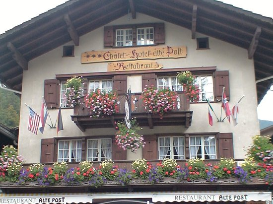 Hotel Alte Post: お洒落な外観