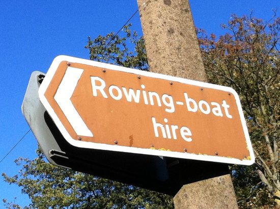 Brandon, UK: We hire rowing boats by the hour