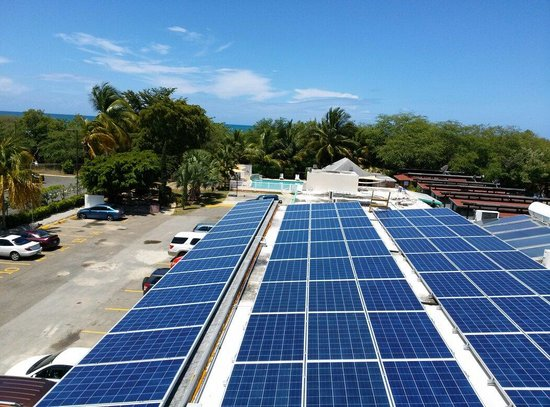 Combate Beach Resort: A look at the beach and the new solar energy system @ CBR