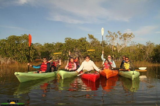 Garl's Coastal Kayaking Everglades : kayaking trip