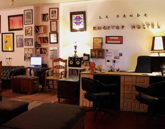 La Banda Rooftop Hostel Sevilla: Reception