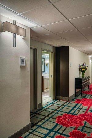 The Kenilworth Hotel: Hallway