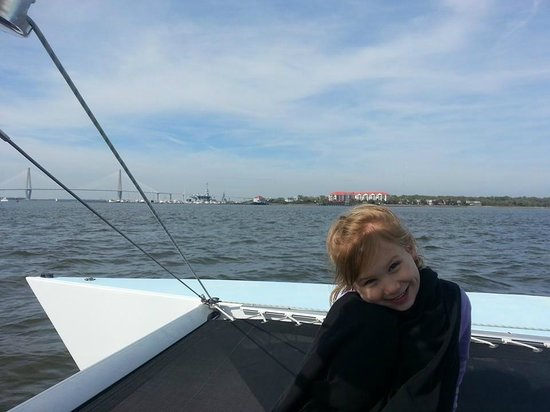 Charleston Sailing Adventures Prevailing Winds: My 6-year-old LOVED it too