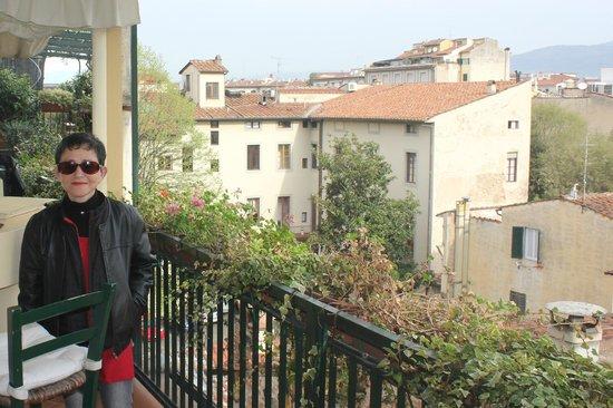Hotel Cellai: terrasse