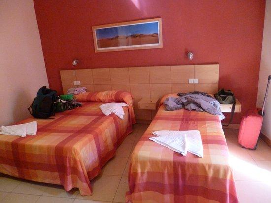 Hostal Tijcal II: vista de la habitación