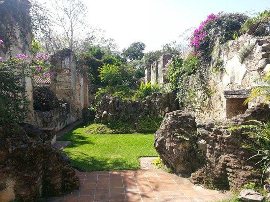 Hotel Cirilo: Las ruinas son preciosas