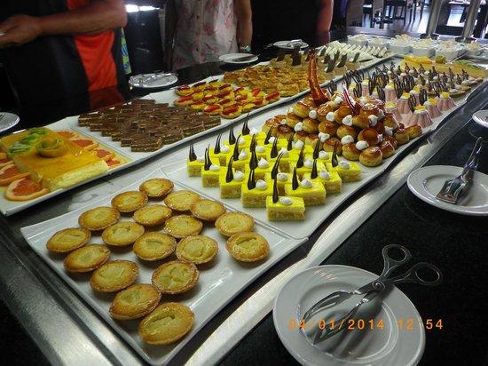Hotel Riu Palace Tikida Agadir : buffet de desserts