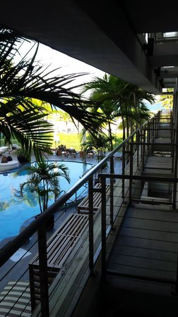 Hotel Victor: Balcony 3rd Floor 1