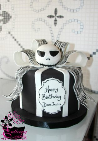 Jack Skellington Cake Picture of Enticing Cakes Inc