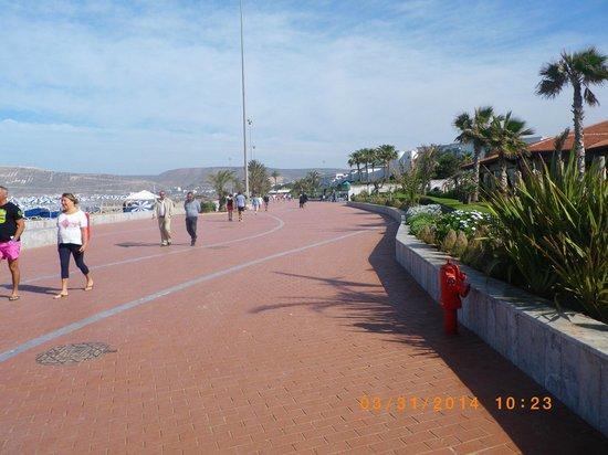 Hotel Riu Palace Tikida Agadir : promenade dans l'hotel
