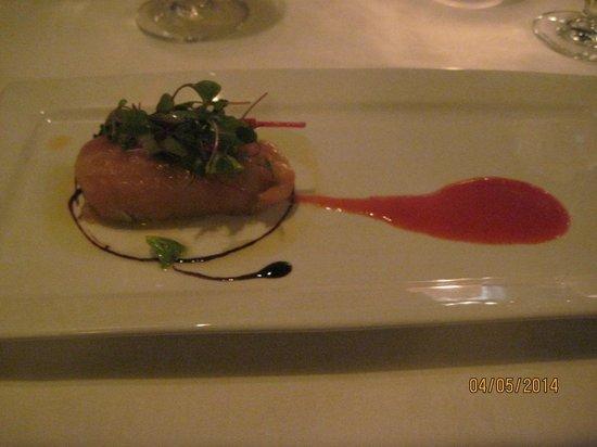 Restaurant La Cremaillere : salmon tartare