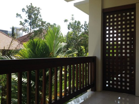 Pertiwi Resort & Spa: Terrace of the room 106