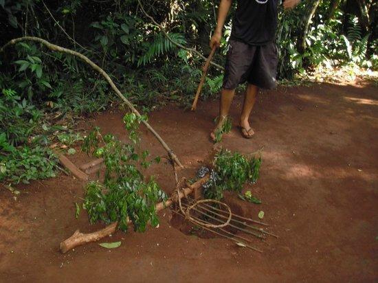 Comunidad Guarani Yriapu - Comunidad Indigena Iriapu: trampa para animales