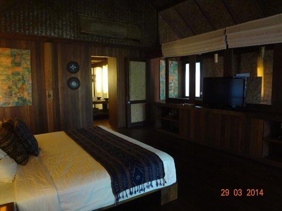 Jeeva Klui Resort: Master Bedroom (second floor) - Amra Villa