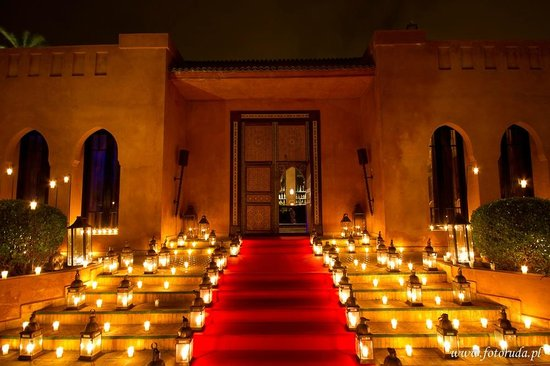 Palais Aziza & Spa : Pool By night - Special Event