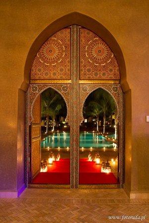 Palais Aziza & Spa : Restaurant Entrance