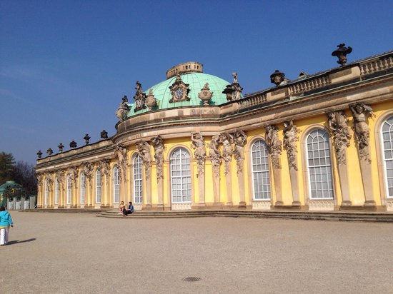 Schloss Sanssouci: Das Schloß