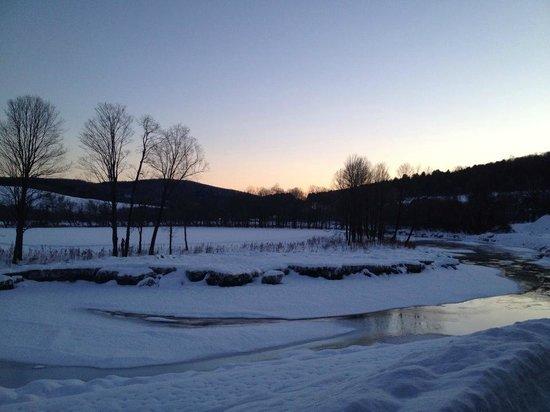 The Shire Woodstock: Shire sunrise