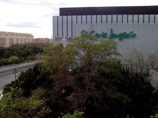 Hotel Turia: Vistas desde la tercera planta, números del 1 al 15