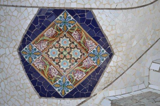 Parc Güell : Tiling