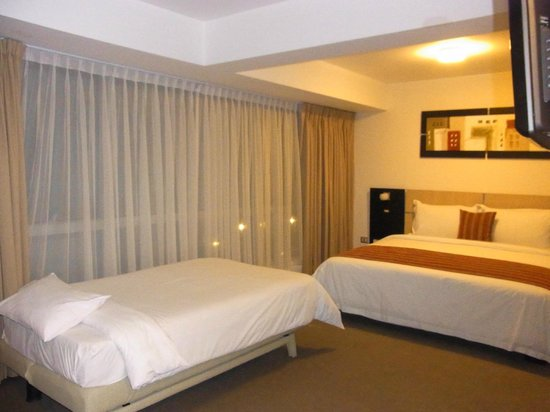 Allpa Hotel & Suites : 部屋