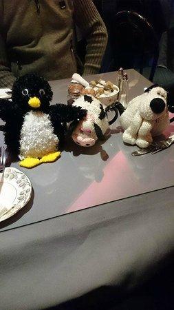 Tea Jennys: Pingu, Daisy  and Gromit